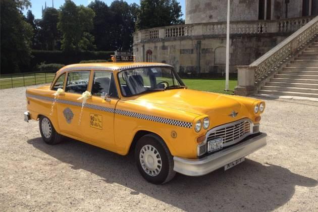 1970's New York Checker Cab