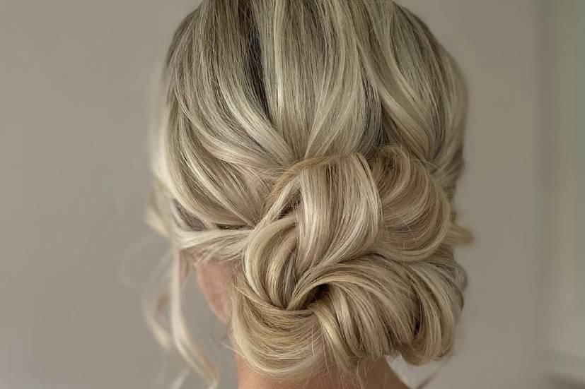 Cambridge Wedding Hair
