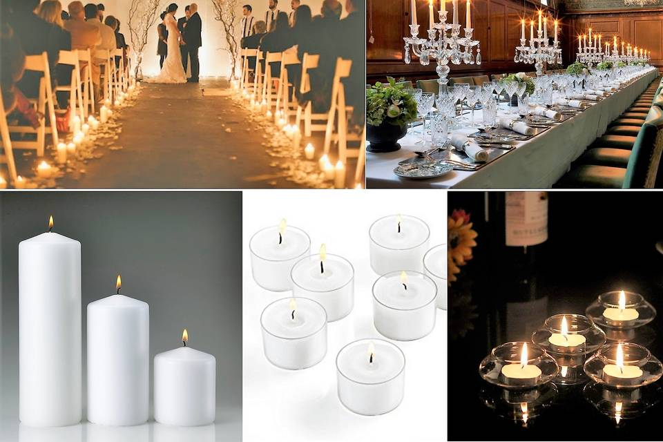 Candles for Weddings