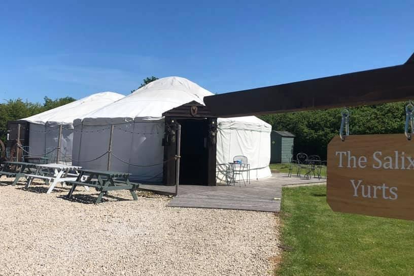 The Salix Yurts Welcome