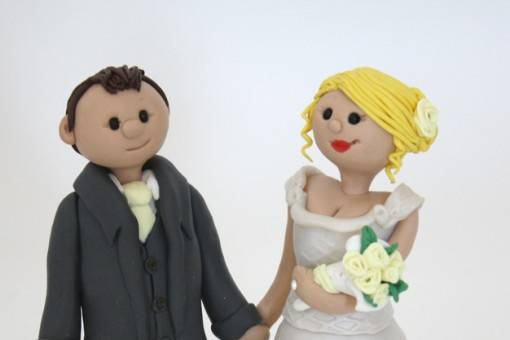 Bluebird Cake Toppers