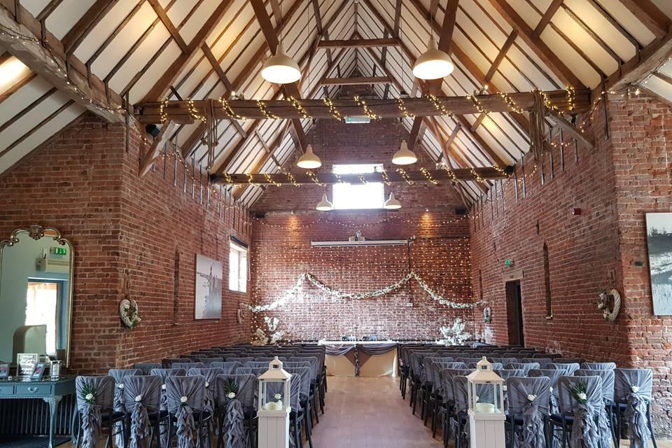 The Granary Wedding Barn 34