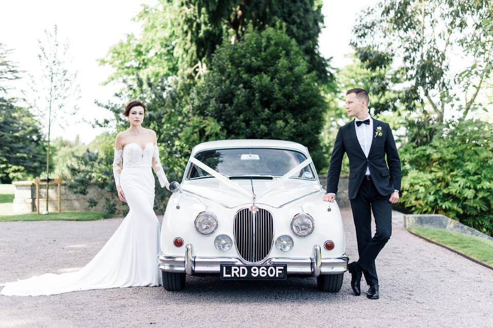 Gold Wedding Cars