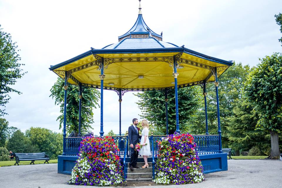 The Band Stand - Castle Park