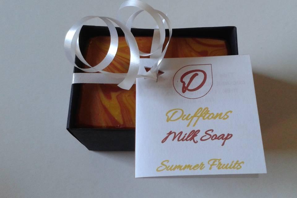 Dufftons Milk Soap