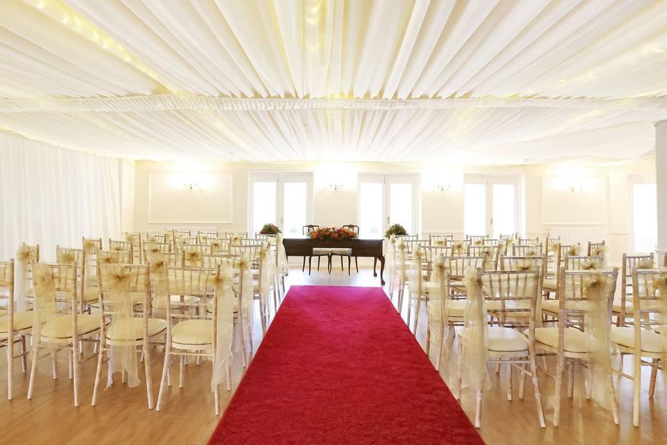 Red-carpet ceremony