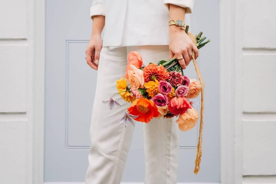 Colourful Poppy Bouquet