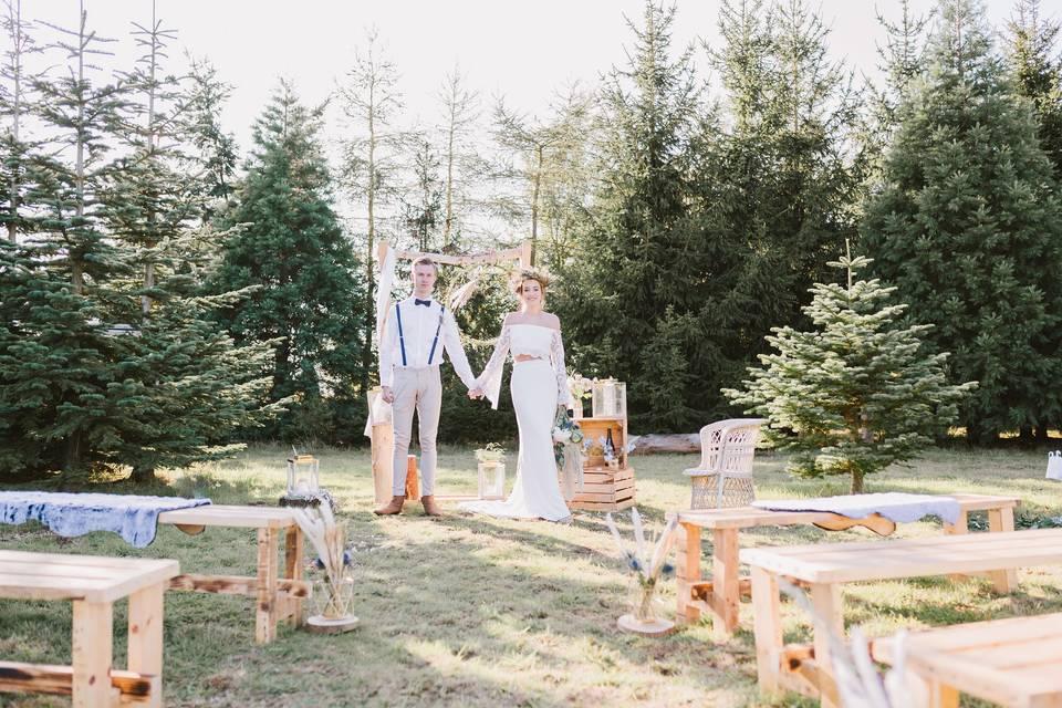 Woodland Hollow ceremony