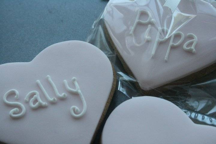 Cookie Favours/Place Settings