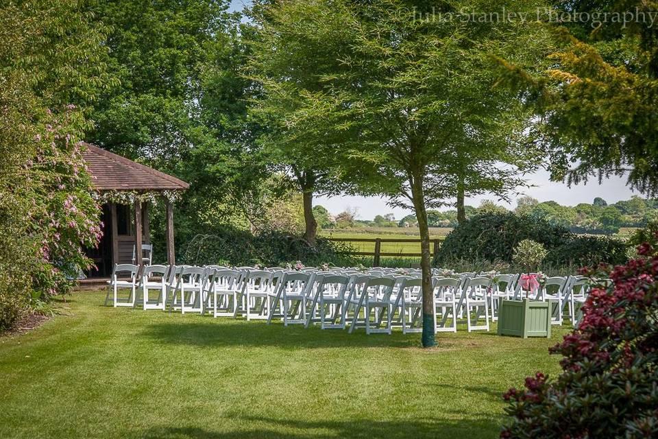 Belvedere Pavilion ceremony