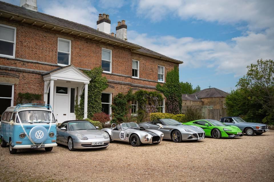 Performance wedding cars