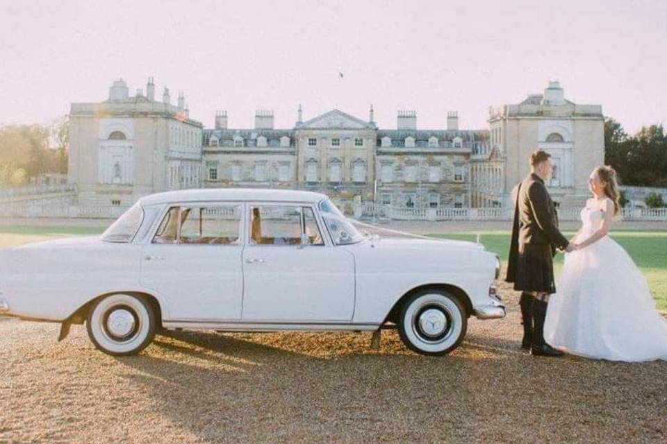 Classic Mercedes-Benz Chauffeuring