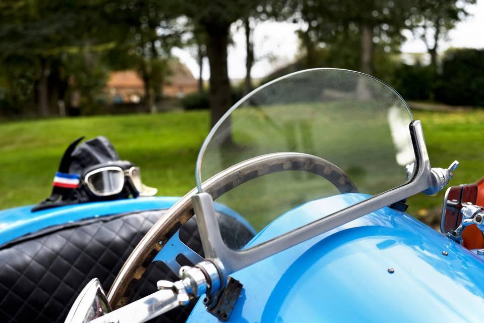 Bugatti wedding car