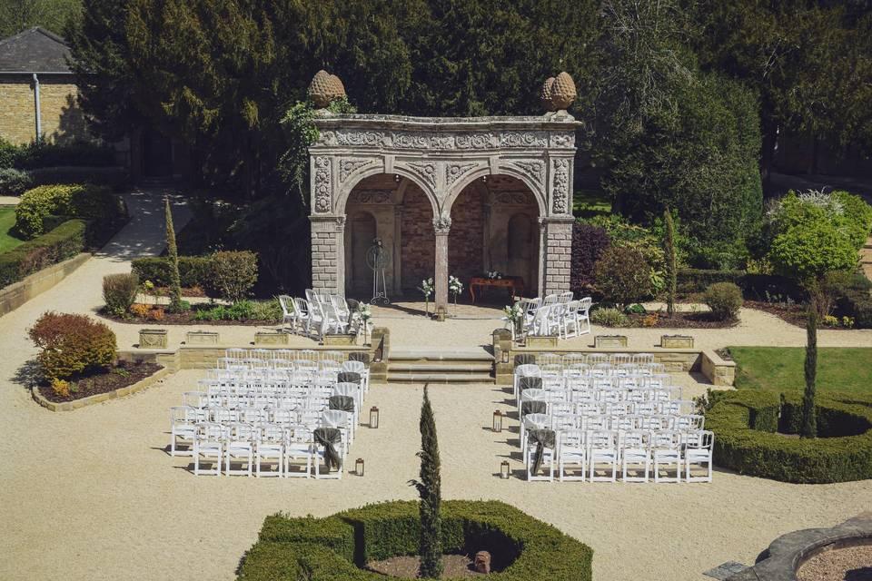 Outdoor Wedding - The Orangery