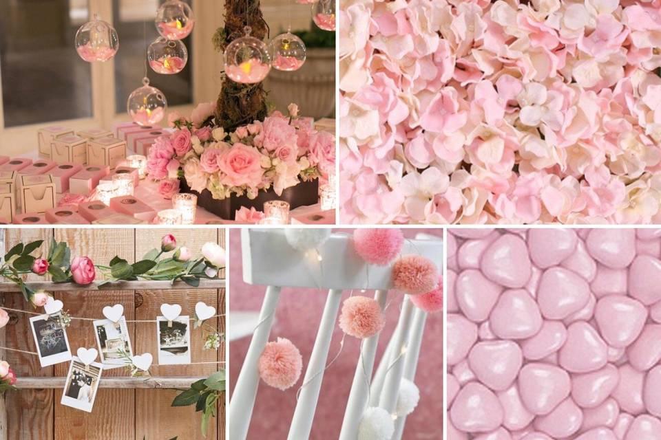 Elegant wedding items