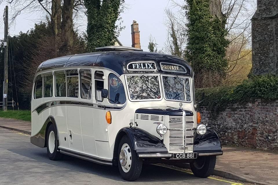 Vintage coach 27 seats (1951)