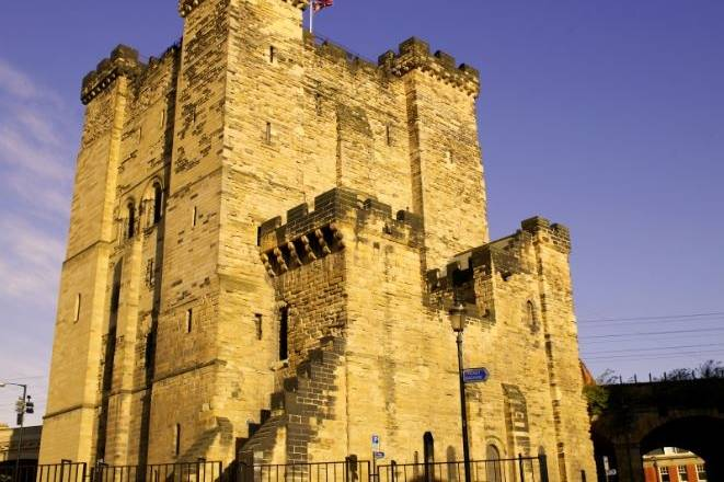 Newcastle Castle Keep by day