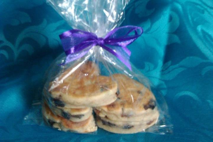 Welsh cake favours