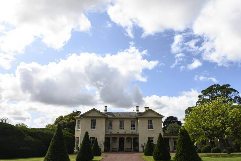 Main drive of the estate