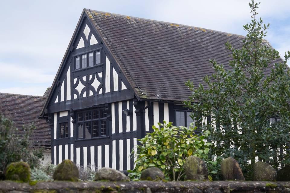 The Black & White Tudor House