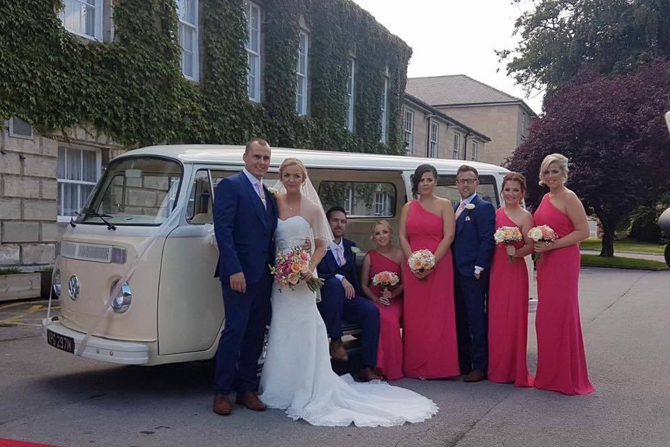 Stunning wedding specific VW
