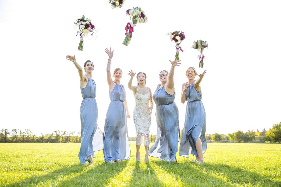 Throw your bouquet