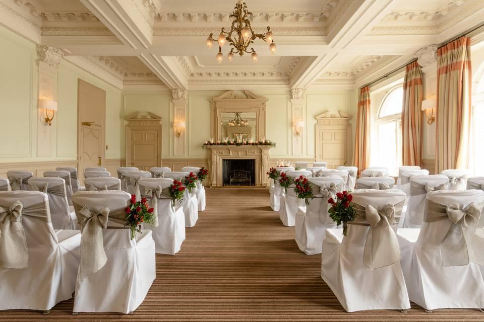 Elegant ceremony spaces