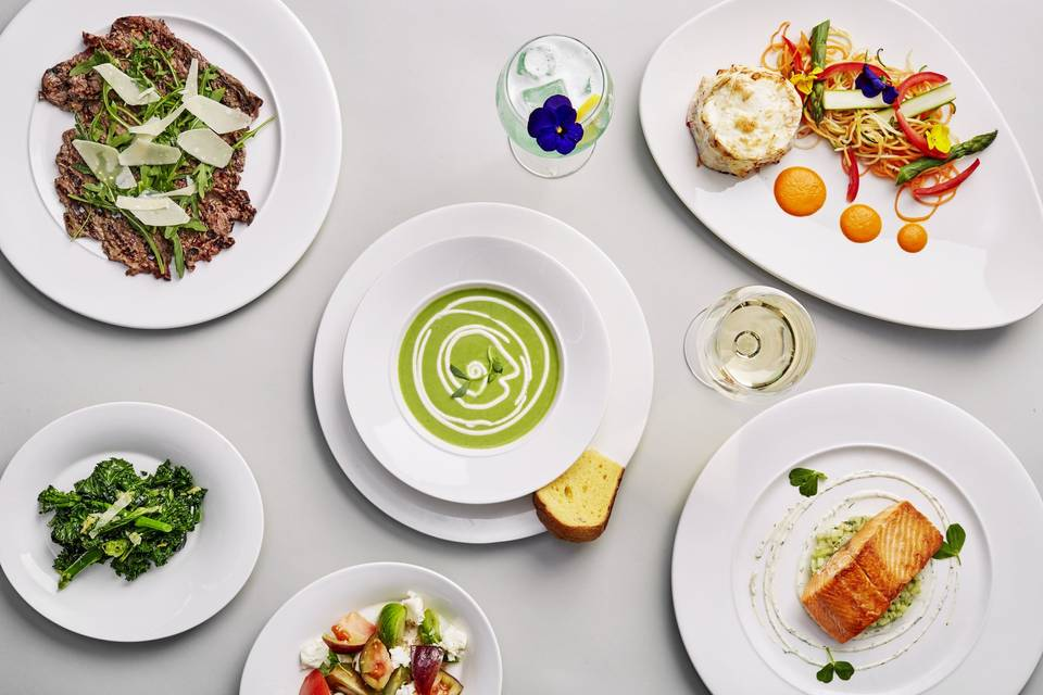 Elegantly Italian Food
