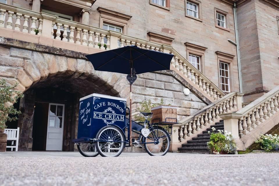 Cafe Bon Bon - Ice Cream Tricycle