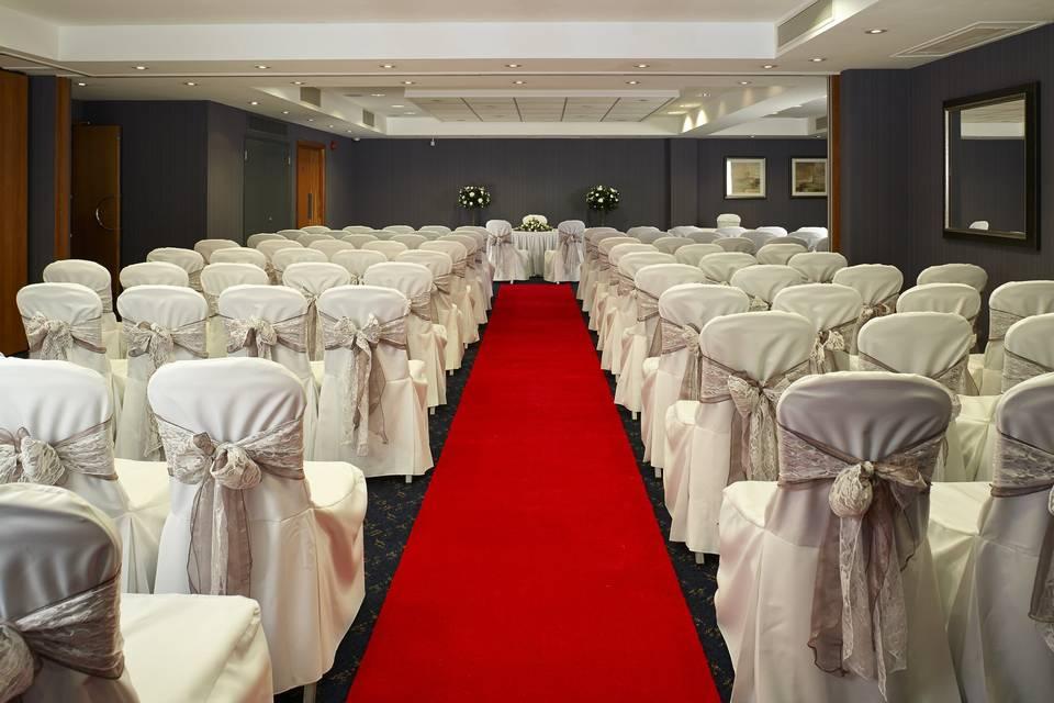 Surrey Suite - Ceremony