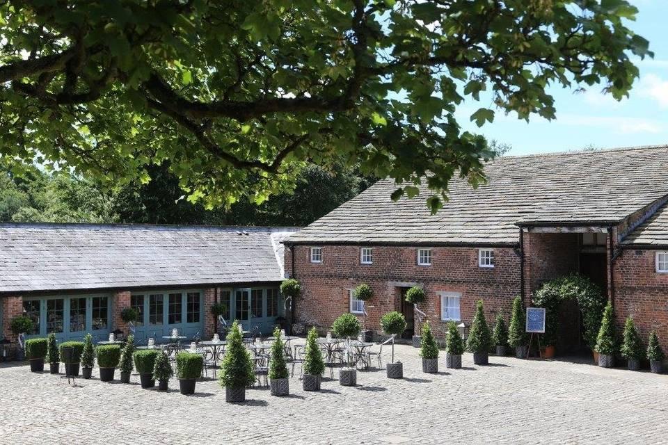 Meols Hall Tithe Barn 45