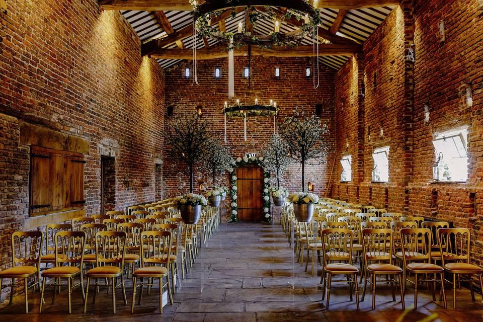 Meols Hall Tithe Barn 49