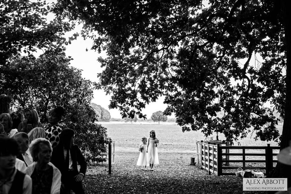 Woodland Ceremony Area