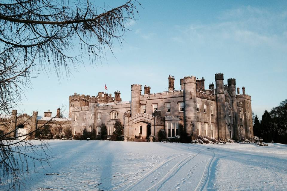 Dundas Castle in Winter
