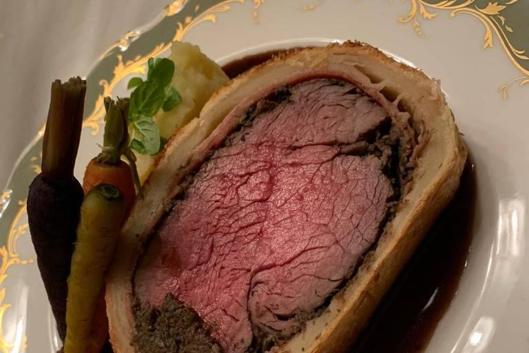 Delicious beef wellington