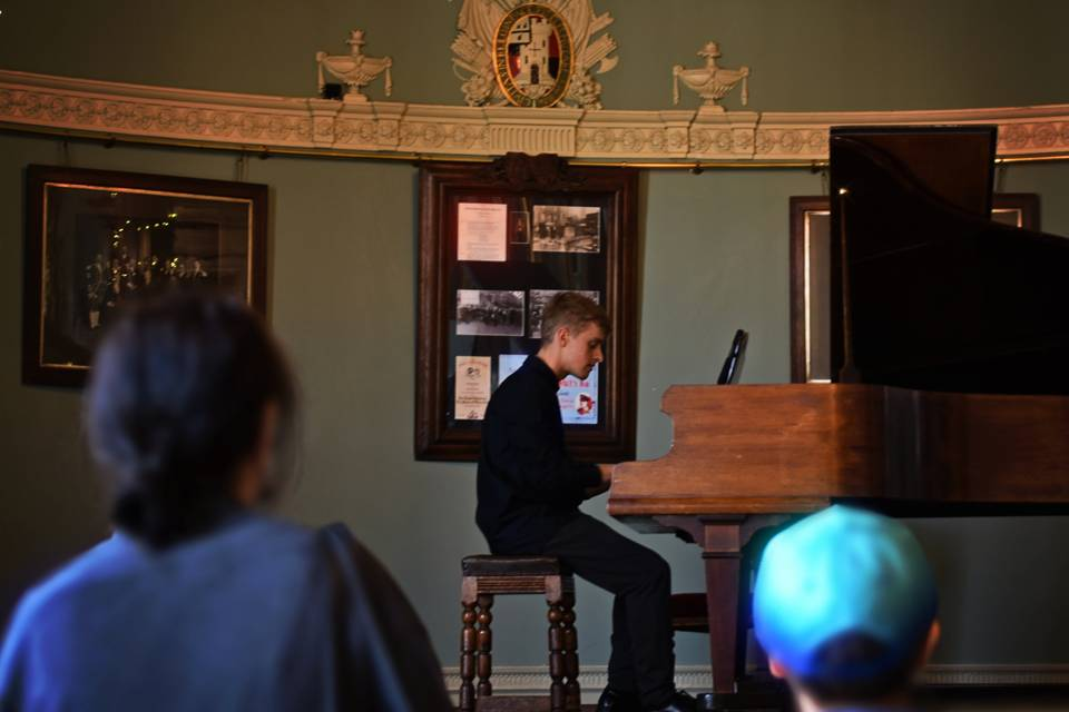 Piano at Guildhall Heritage Day 9/20