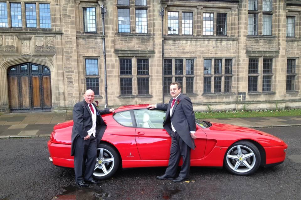 Ferrari, Groom and bestman