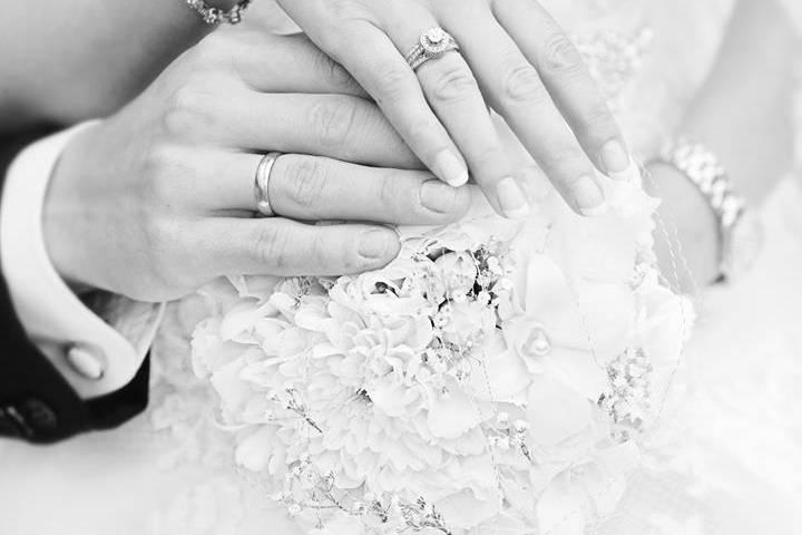 Newlyweds rings