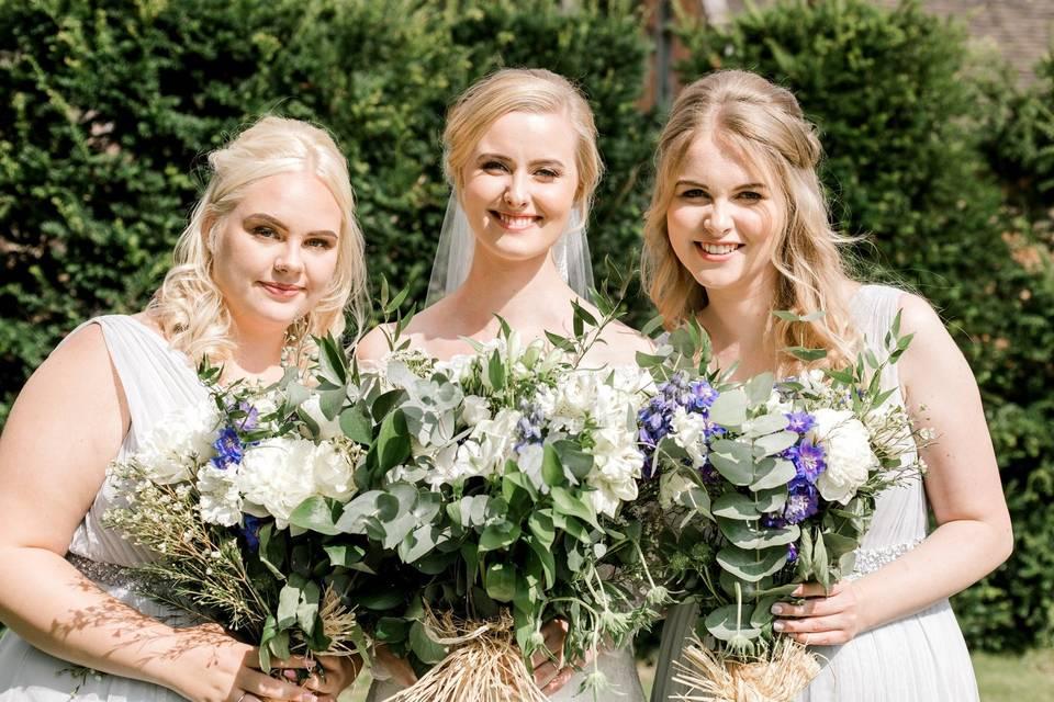 Wedding party beauty