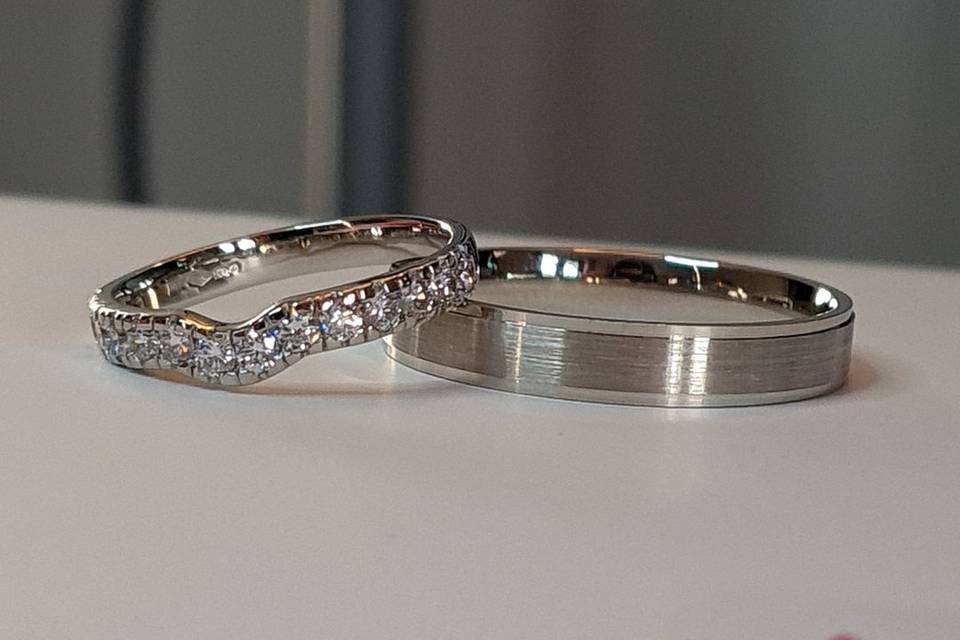 Shaped and patterned bands