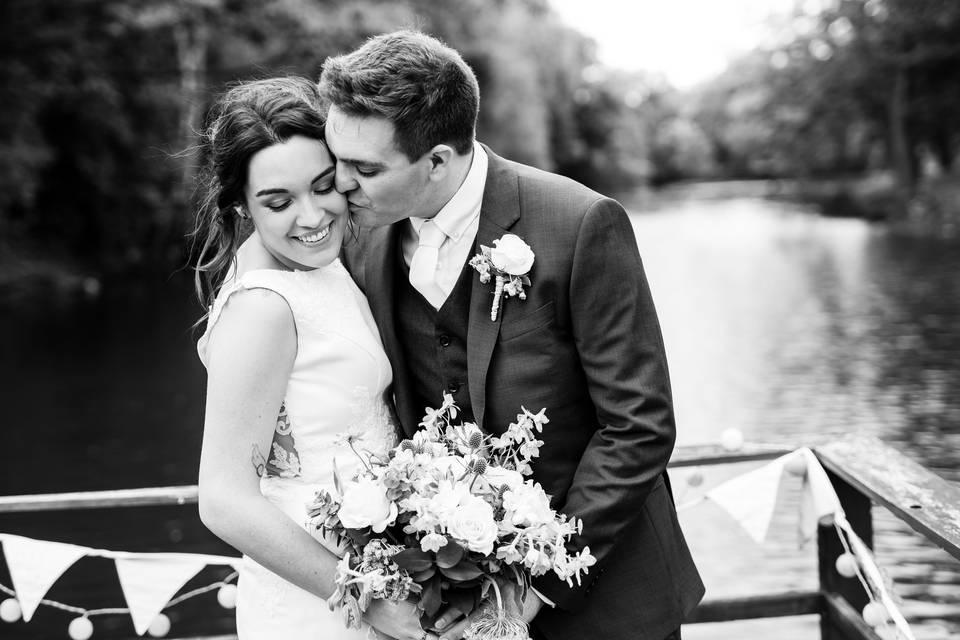 Portrait of the happy couple - JTP IMAGES