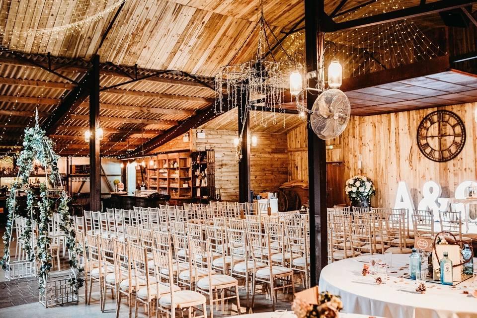 Alcumlow Wedding Barn 59