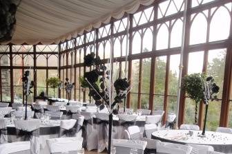 Conservatory table settings