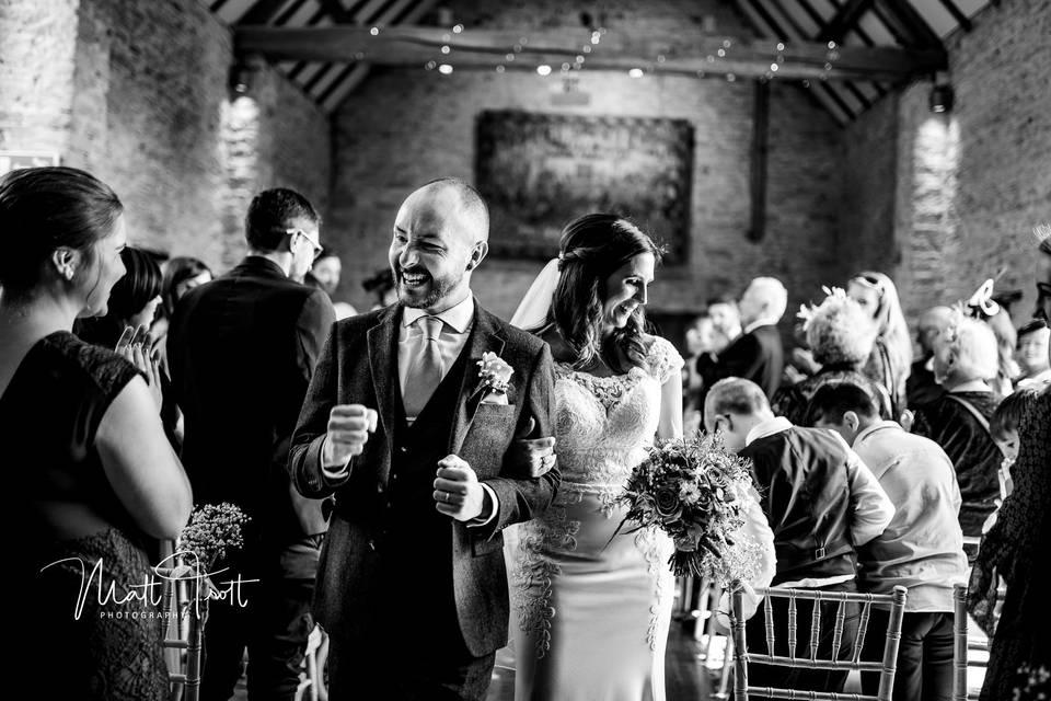 Just married - Matt Trott Photography