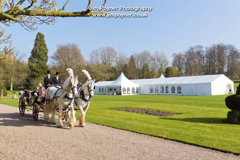 Wedding Marquee near Thirsk