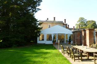 Marquee hire at Yeldersley Hall