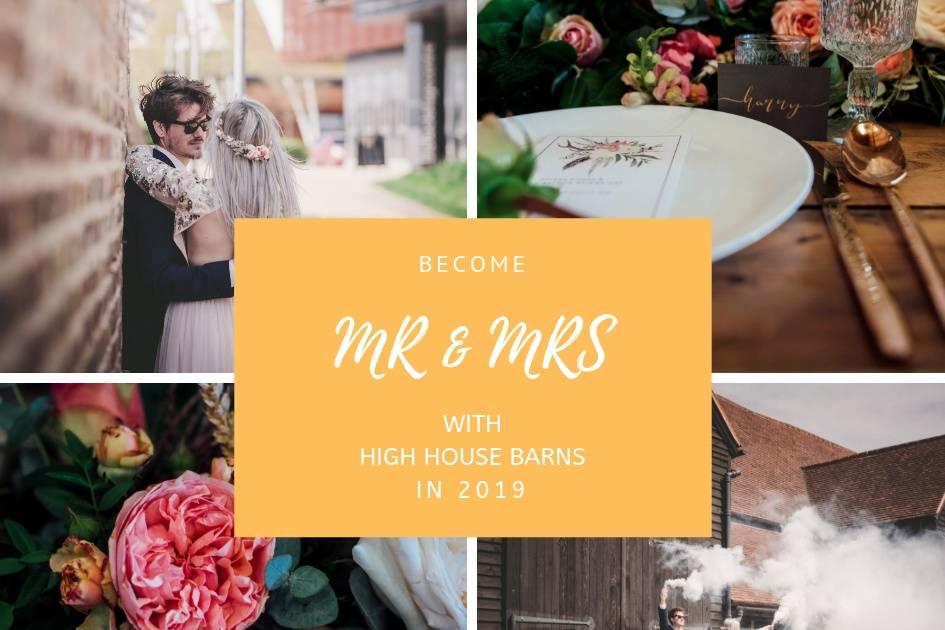 High House Barn Weddings
