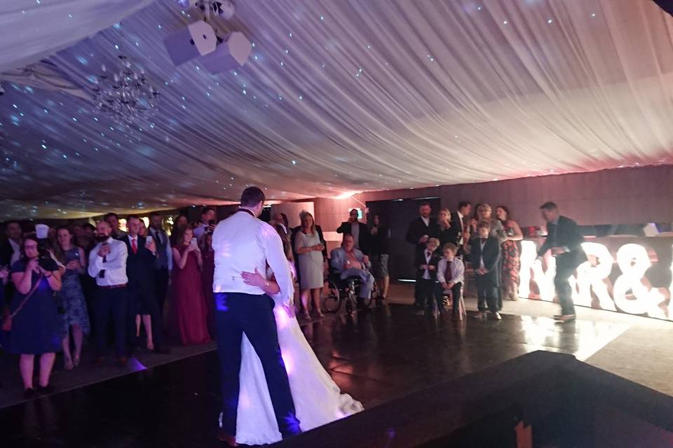 First dance at Oakley Hall