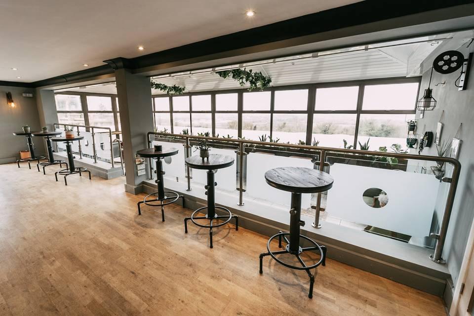 Drinks reception area