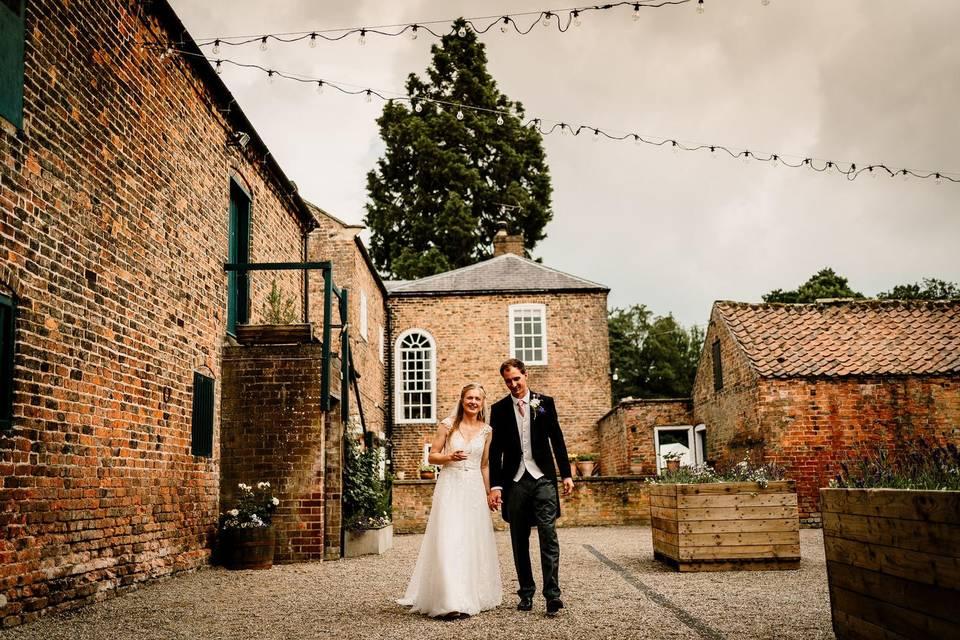 Wedding Courtyard